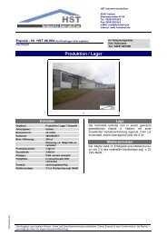 Produktion / Lager - HST Industrie