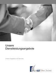 Unsere Dienstleistungsangebote - HST Hanse Treuhand