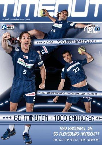 HSV HANDBALL VS. SG Flensburg-handewitt