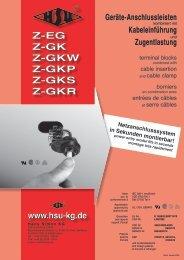 Z-EG Z-GK Z-GKW Z-GKP Z-GKS Z-GKR - Isolationen ...