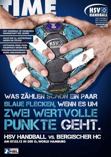 Bergischer HC - HSV Handball