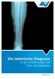 Die lateinische Diagnose in der Unfallchirurgie und ihren ...