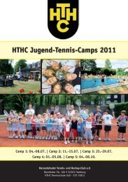 HTHC Jugend-Tennis-Camps 2011