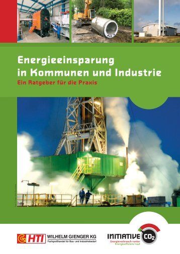 Energieeinsparung in Kommunen und Industrie - Initiative CO2