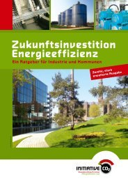 Zukunftsinvestition Energieeffizienz - Initiative CO2
