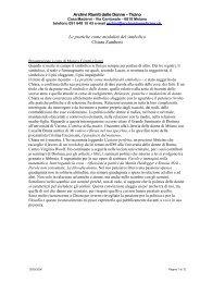 Le pratiche come modalità del simbolico Chiara Zamboni