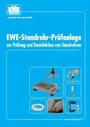 EWE-Standrohr-Prüfanlage