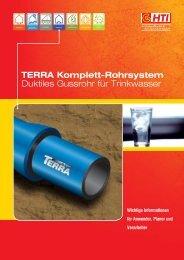 TERRA Komplett-Rohrsystem Duktiles Gussrohr für ... - HTI Hezel KG
