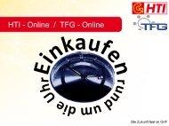 HTI - Online / TFG - Online - HTI Hezel KG