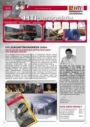 HTIperspektiv 01/2004 - HTI Hezel KG