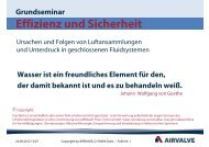 AIRVALVE-Grundseminar (Stand: Sept. 2012) - HTI Hezel KG