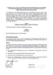 9. Nachtrag vom 17.12.2012 zur Satzung über - Hückeswagen