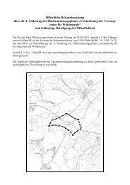 4. Änderung des Flächennutzungsplanes - Hückeswagen