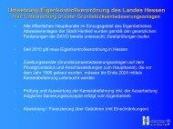 Umsetzung Eigenkontrollverordnung des Landes Hessen - Hünfeld