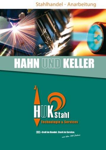 Anarbeitung und Handel von HUKSTAHL Technologie - Hahn und ...