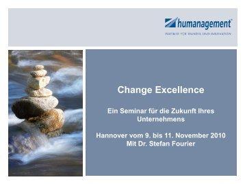 Change Excellence Die Ausbildung zum Change ... - Humanagement