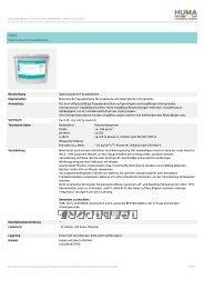 Interface (HUMA-Server.local) - HUMA Farben GmbH