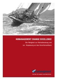Humanagement CHange exCellenCe