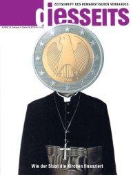 Wie der Staat die  Kirchen finanziert - Humanistischer Verband ...