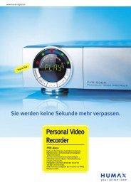 Personal Video Recorder - Humax