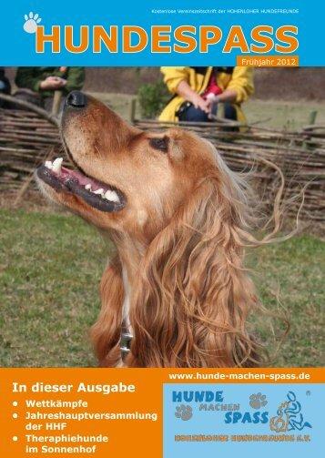 HUNDESPASS - Hunde machen Spass