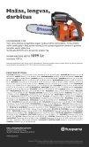 Geri pjūklai- geros kainos - Husqvarna - Page 4