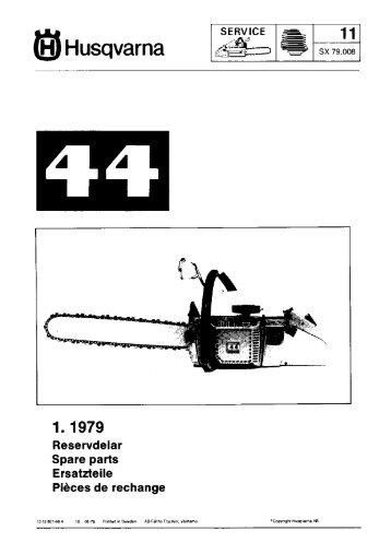 IPL, 44, 1979-05, Chain Saw - Husqvarna