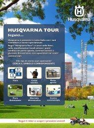 Dal 2 al 15 Aprile - Husqvarna