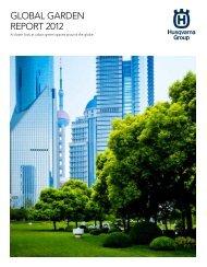 GLOBAL GARDEN REPORT 2012 - Husqvarna Group