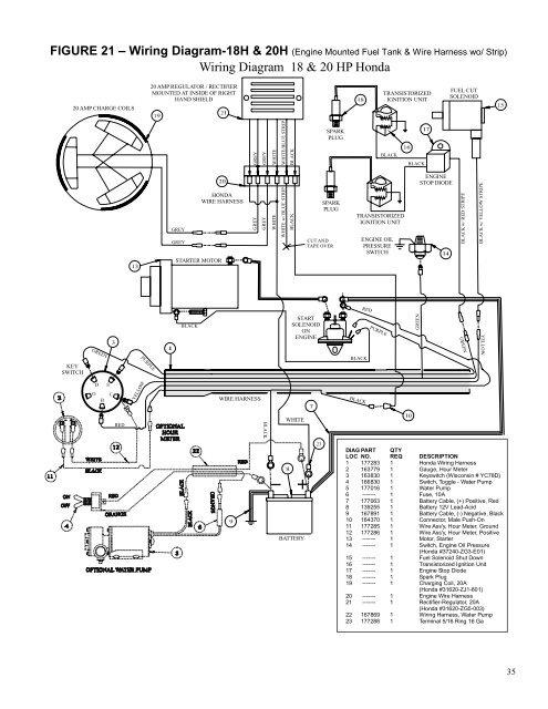 Brigg 18 Hp Wiring Diagram