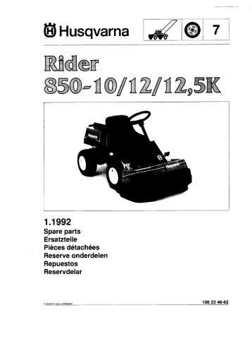 IPL, Rider 850, 1992-03 - Husqvarna