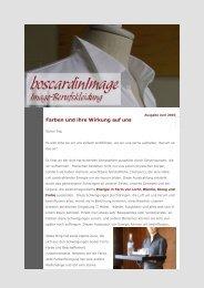 Newsletter Ausgabe Juni 2010 - boscardinimage