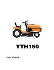 OM, YTH 150 (HCLTH150H), 954140007, 1998-10 ... - Husqvarna