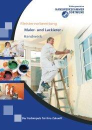 Maler und Lackierer Meistervorbereitung - Handwerkskammer ...