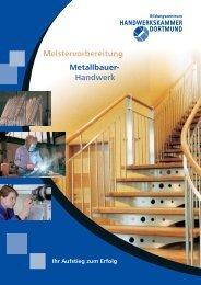 Meisterschule Metallbauer-Handwerk - Handwerkskammer  Dortmund