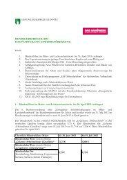Rundschreiben III/2012 - Aktuelle Meldungen