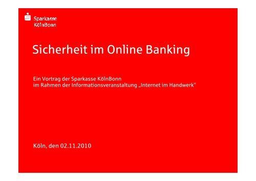 Sicherheit im Online Banking