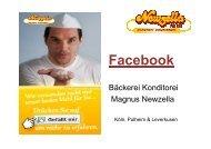 Praxisbericht Bäckerei Konditorei Newzella, Köln