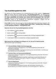 Top-Ausbildungsbetrieb 2009 -  Handwerkskammer zu Köln