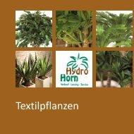 Textilpflanzen-Prospekt