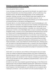 Rede des Hauptgeschäftsführers Dr. Ortwin Weltrich anlässlich der