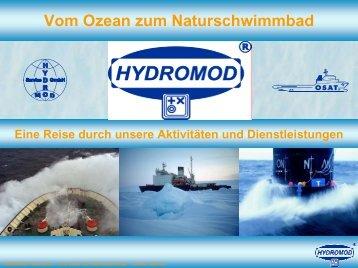 Vom Ozean zum Naturschwimmbad - Hydromod