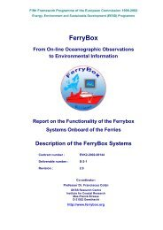 FerryBox - D-2-1 - FerryBox System Description - Rev. 2.0 - Hydromod