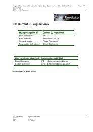 D3: Current EU regulations - Hydromod