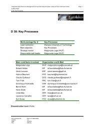 D 38: Key Processes - Hydromod