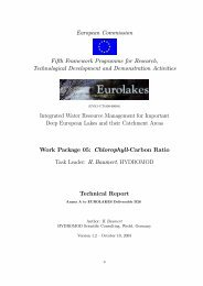 European Commission Fifth Framework Programme for ... - Hydromod
