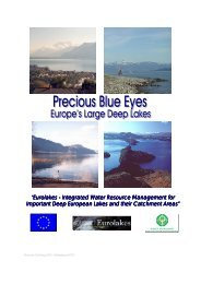 Eurolakes - Integrated Water Resource Management for ... - Hydromod