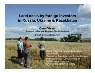 large-scale land investors in ukraine - IAMO