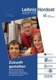 Download (PDF) - Leibniz Gemeinschaft