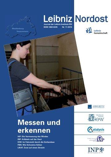 Leibniz-Nordost no. 11 - Leibniz Gemeinschaft